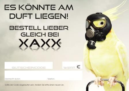 XAXX Parfum Gutscheine