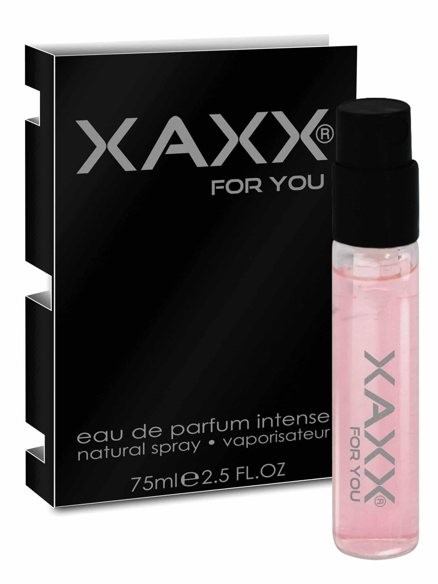 XAXX Herrenduft FIFTEEN intense Probe