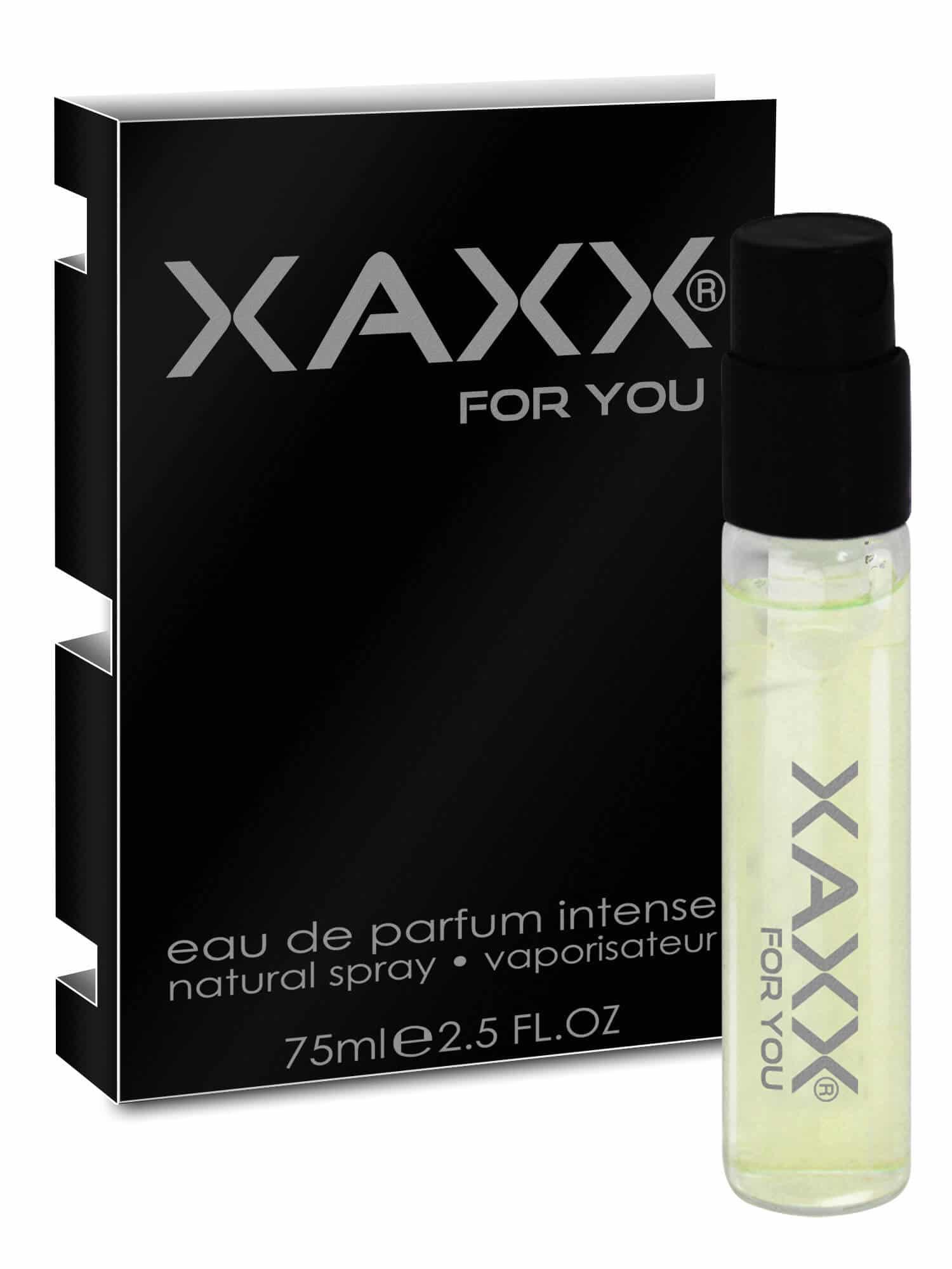 XAXX Herrenduft NINE intense Probe