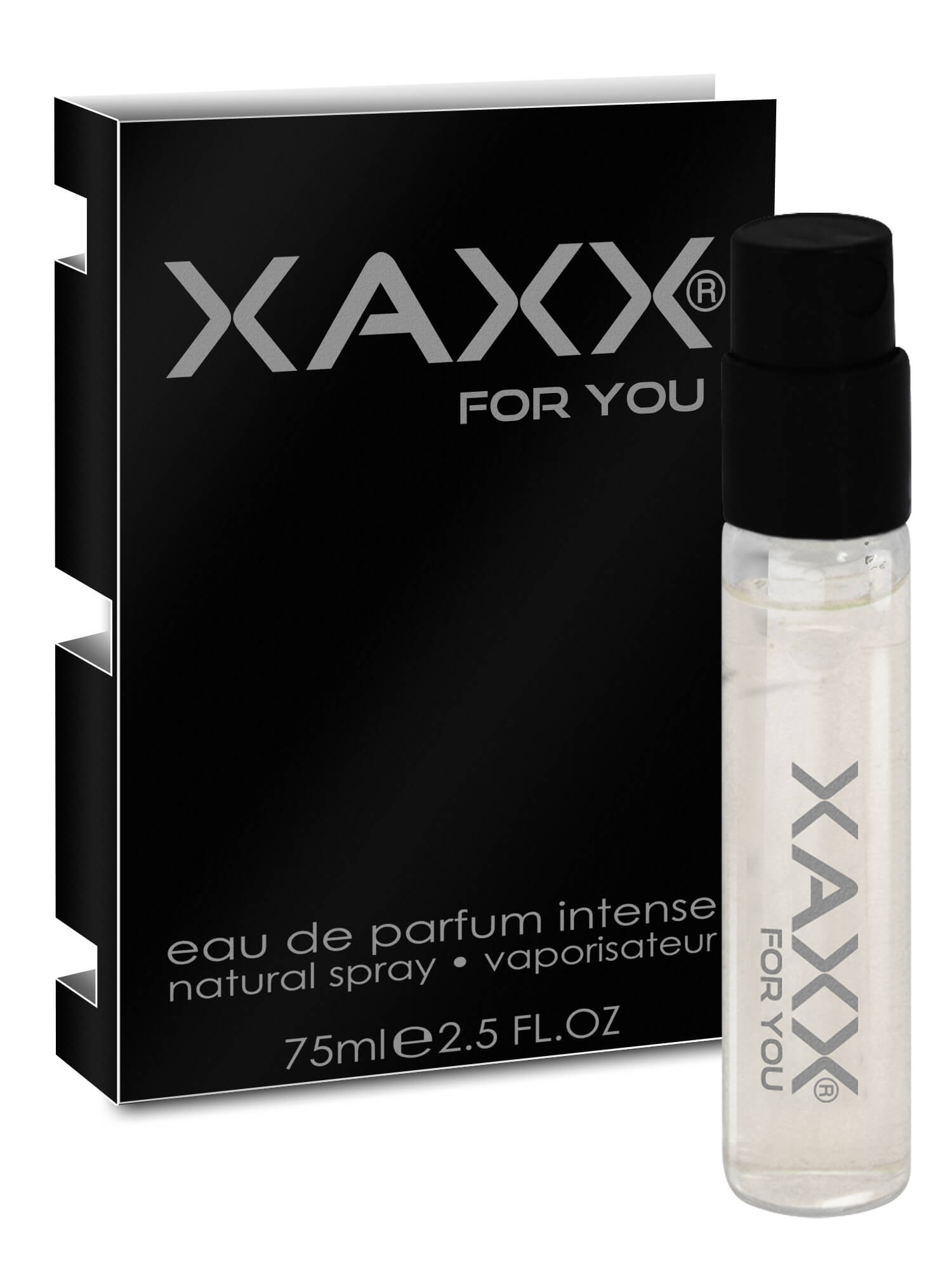 XAXX Herrenduft THREE intense Probe
