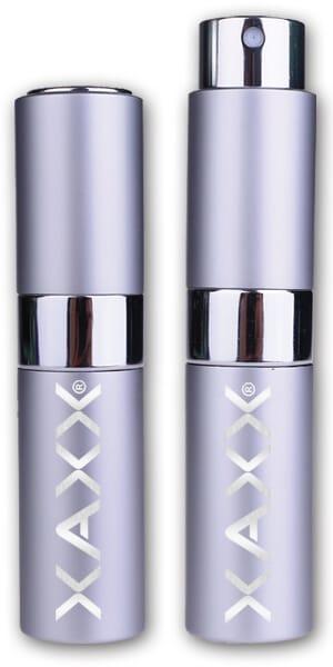 XAXX Parfum Taschenzerstaeuber silber