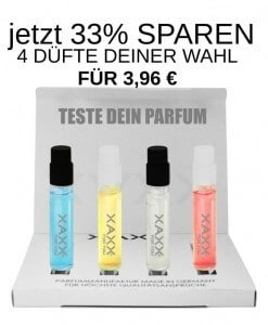 XAXX Parfum intense Test Set