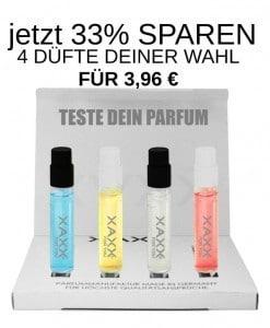 XAXX Parfum intense Test Set